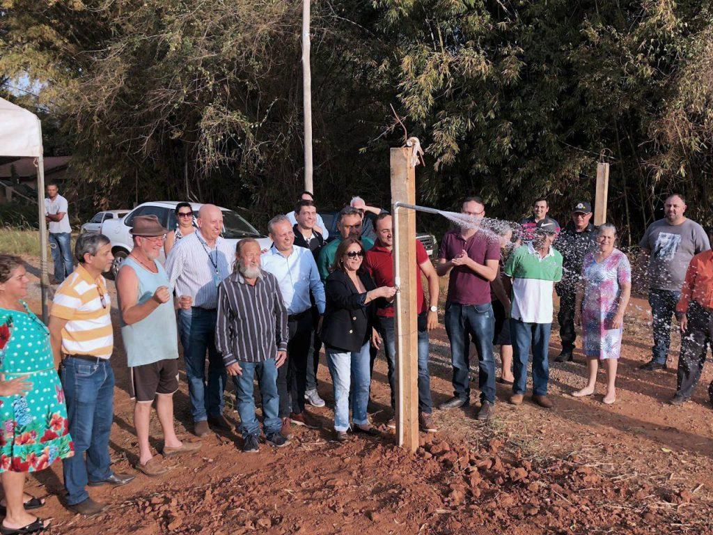 Bairro Bambuzal recebeu recentemente rede de abastecimento de água potável