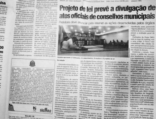 Projeto é de autoria de Marquinho de Abreu